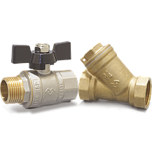 Varmega - краны, фильтра, обратные клапана, разъёма