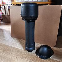 Вентиляционный выход ТР-86.110/160/700 утепленный для Монтеррей, Чёрный, фото 1
