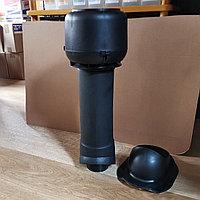 Вентиляционный выход ТР-86.110/160/700 утепленный для Каскад, Чёрный, фото 1