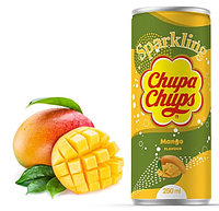 Напиток газ Chupa Chups Манго 250ml Корея (24шт-упак)