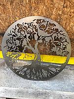 """Металлический орнамент """"Дерево жизни"""""""