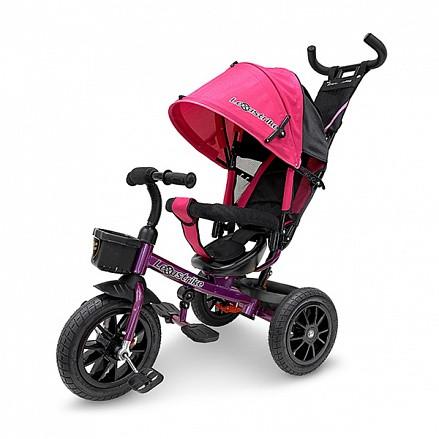 """Трехколесный велосипед Lexus trike, 12"""" и 10"""" розовый"""