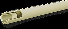 Труба композитная для горячей воды и отопления PPR/PPR+GF/PPR Fusitek Faser (PN20) (СЕРАЯ)