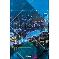 Книга для записей Ночной мегаполис А5