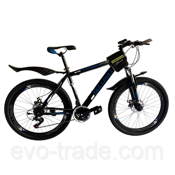 Велосипед Skillmax 26cм сине-черный
