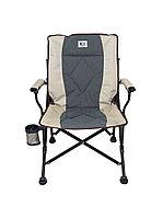 Кресло складное с подлокотниками с наклонной спинкой KYODA APL-LG403RK
