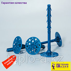 Дюбель  пластиковый ,для теплоизоляции , крепежный. 10-220  mm Синие