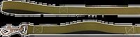 Поводок брезент С ПЕРЕХВАТОМ 2м Карабин 30 PerseiLine ОБ -103