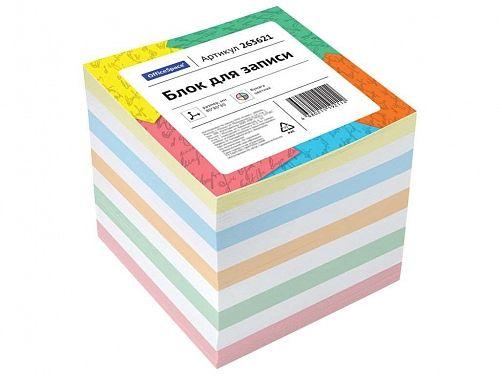 Блок для записей OfficeSpace цветной 8х8х8 см