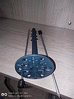 Дюбель зонтик пластиковый 10-160 мм. синие. Металлическим гвоздь. с Термоголовой.