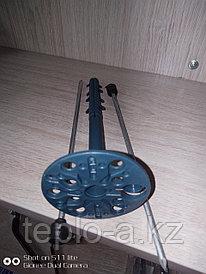 Дюбель зонтик пластиковый с Металлическим гвоздь.  с Термоголовой. 10-200  mm Синие