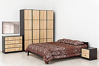 Комплект мебели для спальни Фантазия, Дуб Самоа, MEBEL SERVICE(Украина)
