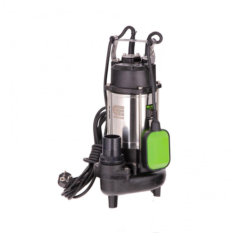 Фекальный насос Сибртех СФН450, 450 Вт, напор 15 м, 21000 л/ч