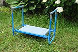 Складная садовая скамейка перевертыш Nika., фото 7