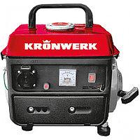 Генератор бензиновый Kronwerk LK-950, 0,8 кВт, 230 В, 2-х такт., 4 л, ручной стартер