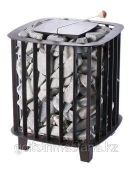 Печь-каменка (до 5 м3) Премьера Руса 220В 4 кВт (с закрытой каменкой)