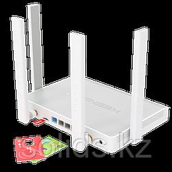 KEENETIC Hero 4G Гигабитный интернет-центр с модемом 4G/3G двухдиапазонным Mesh Wi-Fi AC1300
