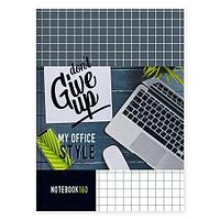 """Тетрадь тв.обложка А4, 160л. клетка """"BG"""" офсет глянц.ламиниров. """"My office"""""""