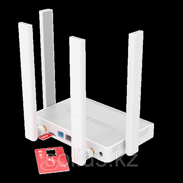 KEENETIC Runner 4G Интернет-центр с модемом 4G/3G, Mesh Wi-Fi N300 и 4-портовым Smart-коммутатором
