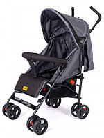 Детская коляска трость Tomix Kika серый/черный