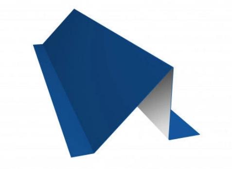 Планка снегозадержателя 95х65х2000 мм Глянец Синий Ral 5005 (5002)