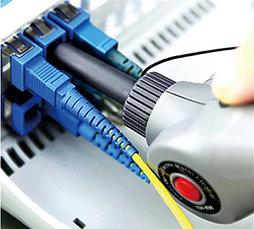 Автоматический очиститель оптических феррул и портов FC, SC, ST, E2000, LC, MU ,2500+ очисток (питание АА 2шт), фото 3