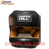 Бампер Шлем Green Hill (чёрный) кожа L