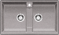 Кухонная мойка Blanco Zia 9-алюметаллик