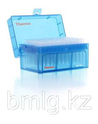 Наконечники 10 мкл стерильные, в штативе без фильтра 96 шт/уп,Thermo Scientific (Кат. № 3501-HR)
