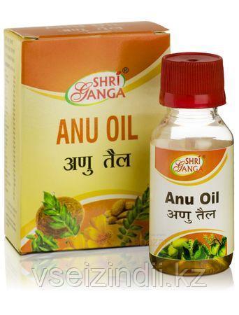Ану масло, Шри Ганга, (Anu tail, Shri ganga) 50 мл капли в нос
