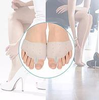Силиконовые ортопедические стельки при вальгусной деформации, разделитель для пальцев стопы.