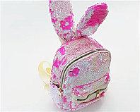 Рюкзак с пайетками для девочек (в ассортименте)