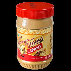 Паста арахисовая мягкая Sonya 510ml