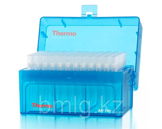 Наконечники 10 мкл стерильные, в штативе с фильтром  96 шт/уп,Thermo Scientific (Кат. № 2139-HR)