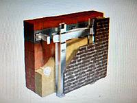 Навесные вентилируемые фасадные подсистемы из оцинкованной стали