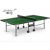 Теннисный стол Game Indoor green с сеткой, фото 1