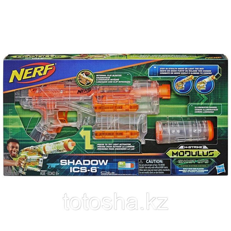 Бластер Nerf Modulus Shadow ICS-6 Шэдоу , E2655