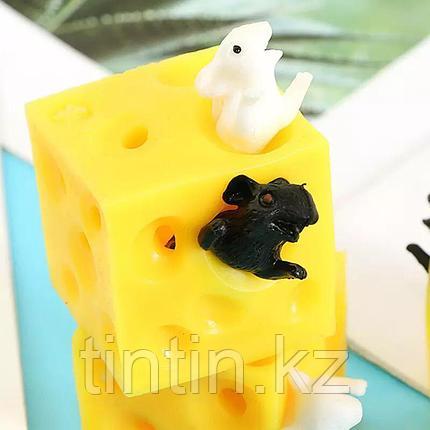 """Игрушка-антистресс """"Мышки в сыре"""", фото 2"""
