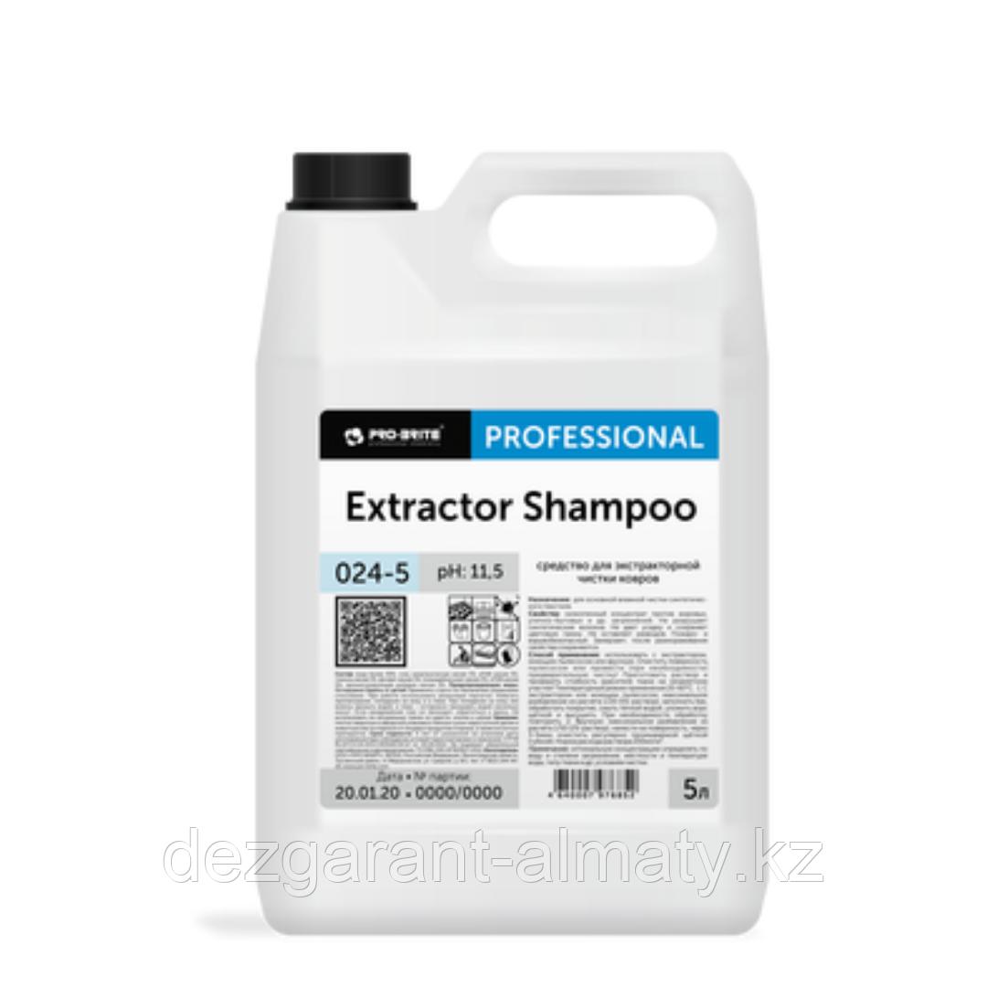 Cредство для экстракторной чистки ковров Extractor Shampoo 5л