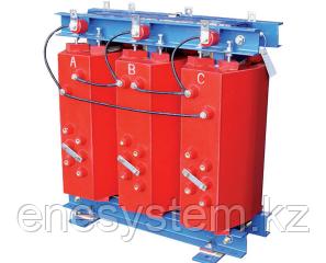 Трехфазный трансформатор герметизированный смолой