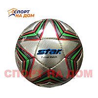 Футбольный мяч Star кожаный (размер 4) сшитый