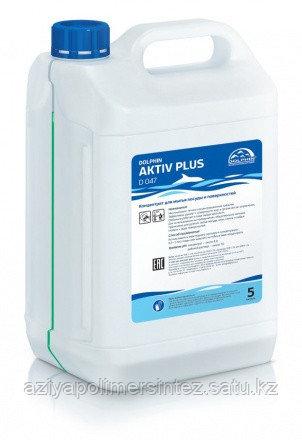 Концентрат для мытья посуды и поверхностей Dolphin Aktiv Plus 10 л.