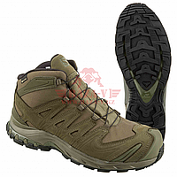 Тактические ботинки для спецназа, стойкая к проколам подошва Salomon XA Forces MID GTX EN 2020 (Ranger Green), фото 1