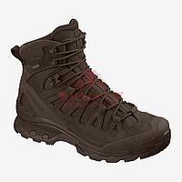 Тактические ботинки, стойкая к проколам подошва Salomon Quest 4D GTX Forces 2 EN (Slate Black) (7.5, Slate