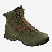 Тактические ботинки, стойкая к проколам подошва Salomon Quest 4D GTX Forces 2 EN (Ranger Green) (7.5, Ranger, фото 1