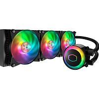 Водяное охлаждение для CPU CoolerMaster MasterLiquid ML360R RGB 4-pin(PWM) 650-2000RPM 30dBA LGA1151/1150/1155