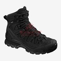Тактические ботинки, стойкая к проколам подошва Salomon Quest 4D GTX Forces 2 EN (Black) (9.5, Black), фото 1