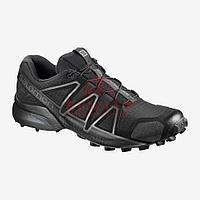 Беговые кроссовки Salomon Speedcross 4 Wide Forces по пересеченной местности (Black)