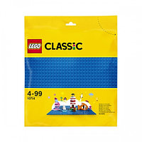 Lego Classic 10714 Строительная пластина синего цвета