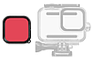 Подводный фильтр TELESIN для GoPro HERO 9 Black, фото 2